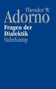 Fragen der Dialektik (1963/64)