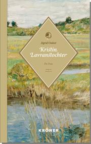 Kristin Lavranstochter