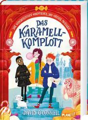 Das Karamell-Komplott - Cover