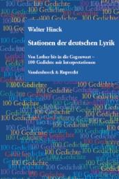 Stationen der deutschen Lyrik