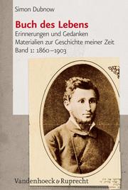 Buch des Lebens, Band 1: 1860-1903