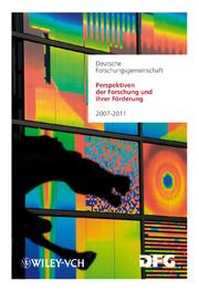 Perspektiven der Forschung und ihrer Förderung
