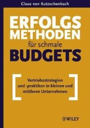 Erfolgsmethoden für schmale Budgets