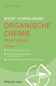 Wiley-Schnellkurs Organische Chemie II Reaktionen - Cover