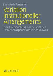 Variation institutioneller Arrangements
