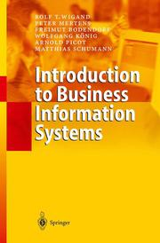 Introduction to Business Information Systems
