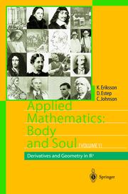 Applied Mathematics: Body and Soul I