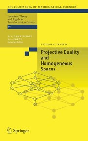 Projective Duality and Homogeneous Spaces