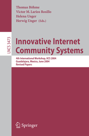 Innovative Internet Community Systems