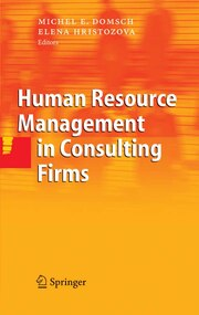 Human Resource Management in Consulting Firms - Cover