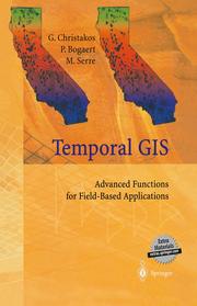 Temporal GIS