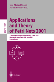 Applications and Theory of Petri Nets 2001