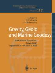 Gravity, Geoid and Marine Geodesy