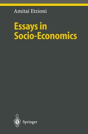 Essays in Socio-Economics
