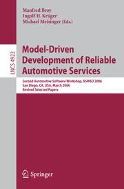 Model-Driven Development of Reliable Automotive Services