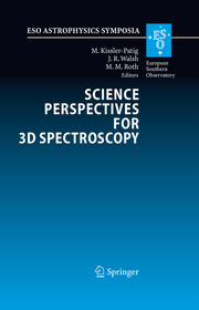 Science Perspectives for 3D Spectroscopy