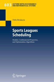 Sports Leagues Scheduling