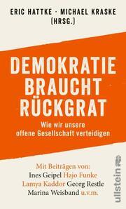 Demokratie braucht Rückgrat