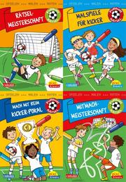 Fußball-Rätsel: Spielen, Malen, Raten wie die Weltmeister!