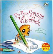 Die kleine Spinne Widerlich: Mein buntes Mal- und Spielebuch