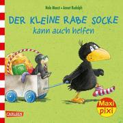 Maxi Pixi - Der kleine Rabe Socke kann auch helfen