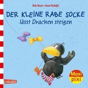 Maxi Pixi - Der kleine Rabe Socke lässt Drachen steigen