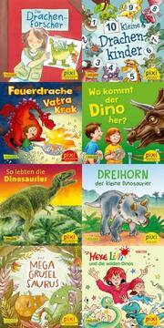 Dinos und Drachen bei Pixi