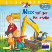 Max auf der Baustelle