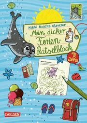 Mein dicker Ferien-Rätselblock 9 - Cover