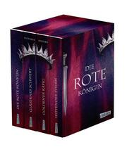 Die Rote Königin: Alle vier Bände im Taschenbuch-Schuber