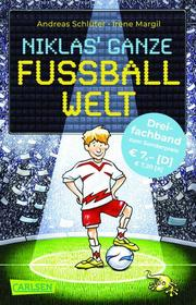 Niklas' ganze Fußballwelt - Dreifachband - Cover
