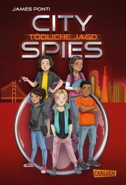City Spies - Tödliche Jagd - Cover