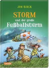 Storm und der große Fußballsturm - Cover