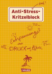 Anti-Stress-Kritzelblock