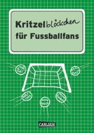 Kritzelblöckchen für Fußballfans