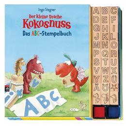 Der kleine Drache Kokosnuss: Das ABC-Stempelbuch
