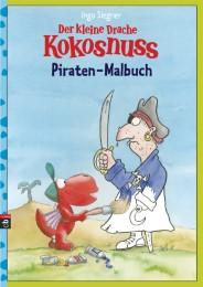 Der kleine Drache Kokosnuss - Piraten-Malbuch