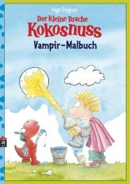 Der kleine Drache Kokosnuss - Vampir-Malbuch