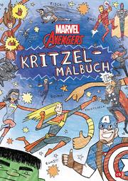 MARVEL Avengers Kritzel-Malbuch