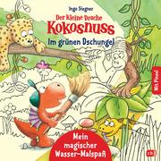 Der kleine Drache Kokosnuss - Mein magischer Wasser-Malspaß - Im grünen Dschungel