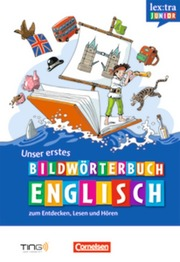 Unser erstes Bildwörterbuch Englisch