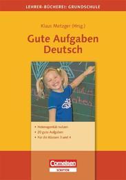 Gute Aufgaben Deutsch