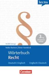 Wörterbuch Recht - Cover