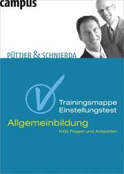 Trainingsmappe Einstellungstest Allgemeinbildung