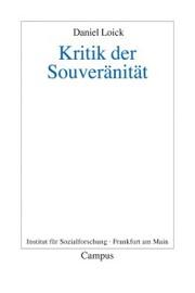Kritik der Souveränität