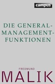 Die General-Management-Funktionen