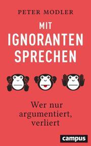 Mit Ignoranten sprechen - Cover