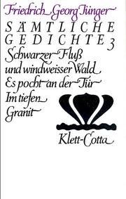 Werke. Werkausgabe in zwölf Bänden / Sämtliche Gedichte 3 (Werke. Werkausgabe in zwölf Bänden, Bd. ?)