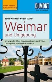 DuMont Reise-Taschenbuch Reiseführer Weimar und Umgebung - Cover
