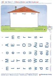 ABC der Tiere 1 - Silbenschieber und Wortautomat (VPE 10 Stück), Erstausgabe